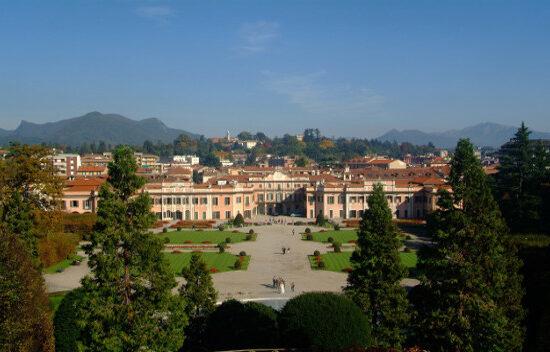 Foto del palazzo dei griadini estensi